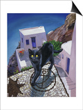 Cat of Greece (Chat de Grece) Prints by Isy Ochoa