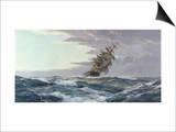 La gloire des mers Affiches par Montague Dawson