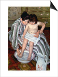 Cassatt: The Bath, 1891-2 Posters by Mary Cassatt