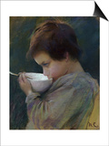 Child Drinking Posters by Mary Cassatt