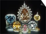 Colored Diamonds Art