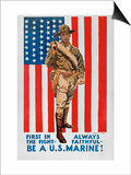 World War I: U.S. Marines Posters by James Montgomery Flagg