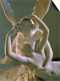 Psyche Brought to Life by Eros' Kiss, 1793 Prints by Antonio Canova