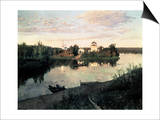 Evening Bells Poster by Isaak Ilyich Levitan