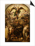 The Fall of the Rebel Angels Prints by Domenico Beccafumi
