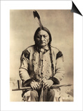 Sitting Bull (Tatanka Iyotake) 1831-90 Teton Sioux Indian Chief Posters