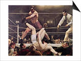 Dempsey and Firpo Prints by George Bellows