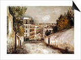 Utrillo: Montmartre, 20Th C Art by Maurice Utrillo