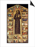 St Francis Of Assisi Posters by  Master of St. Francis Bardi