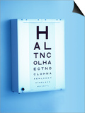Eye Chart Posters by Adam Gault