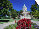State Capitol, Kansas, USA Prints
