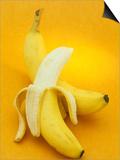 Peeled and Unpeeled Bananas (Musa Accuminata), Cavendish Variety Posters by Wally Eberhart