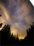 The Night Sky Above the Town of Breckenridge, Co. Prints by Ryan Wright
