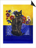 Burmese Cat, Series II Prints by Isy Ochoa