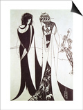 Salome Posters by Aubrey Beardsley