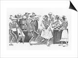Posada: Happy Dance Posters by Jose Guadalupe Posada