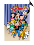 Archie Comics Cover: Archie & Friends No.154 Little Archie Pets Guest Starring Little Sabrina Art by Fernando Ruiz