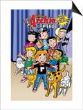 Archie Comics Cover: Archie & Friends No.154 Little Archie Pets Guest Starring Little Sabrina Art by Fernando Ruiz