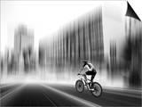 The Biker Print by Josh Adamski