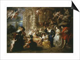 The Garden of Love 1633 198X173Cm Art by Sir Peter Paul Rubens