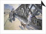 Le Pont de L'Europe Posters by Gustave Caillebotte