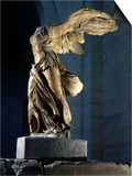 The Winged Victory or Nike of Samothrace, Marble, c. 190 BC Prints