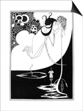 Wilde: Salome Poster by Aubrey Beardsley