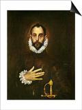 El Greco: Gentleman Posters by  El Greco