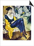 Anna Akhmatova (1889-1967) Prints by Nathan Isaevich Altman