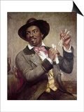 The Bone Player, 1856 Posters by William Sidney Mount