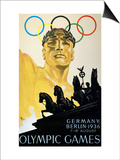 Olympic Games, 1936 Posters