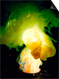 Reaction of Zinc Dust and Flowers of Sulfur Prints by Philip Evans