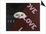 Love, Love, Love Plakat av Charles Demuth