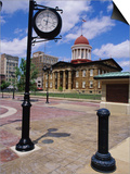 Old State Capitol Plaza, Springfield, Illinois, USA Poster