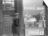 Chicago: Barber Shop, 1941 Posters by Edwin Rosskam