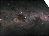 The Southern Cross and the Pointers in the Milky Way Prints