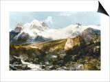 Moran: Teton Range, 1897 Posters by Thomas Moran