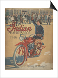 Smithsonian Libraries: Indian Motorcycle Cover Posters