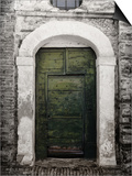 Green door in Penne Posters by Andrea Costantini