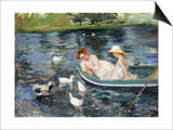 Cassatt: Summertime, 1894 Prints by Mary Cassatt