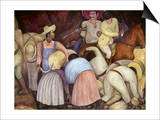 Rivera: Mural, 1920S Print by Diego Rivera