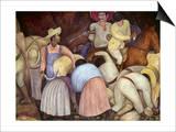 Rivera: Mural, 1920S Print by Diego Rivera