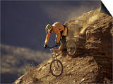 Mountain Biking Downhill Prints