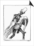 Kubin: Ghost at the Ball Prints by Alfred Kubin