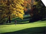 Autumn Golfing Prints