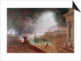 Seventh Plague of Egypt Prints by John Martin