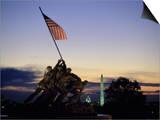 U.S. Marine Corps War Memorial Arlington National Cemetery Arlington Virginia, USA Posters