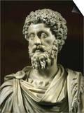 Marcus Aurelius, 121-180, Roman Emperor Prints