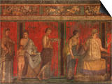 Villa of the Mysteries Pompeii Italy Art
