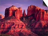 Cathedral Rock of Sedona, Arizona Posters by Mike Cavaroc